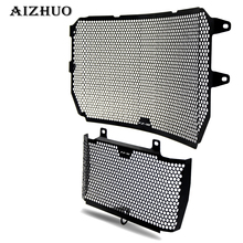 Motorcycle Radiator Guard Protector Grille Grill Cover Stainless Steel Radiator Grill Cover For yamaha MT10/FZ10/FJ10 2016-2017 new stainless steel motorcycle accessories radiator guard cover grille grill fuel tank protector for r3 2015 2016 free shipping