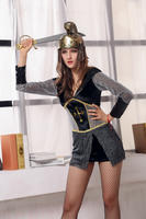 Cheap Cosplay Costumes Free Shipping Sexy Warrior Costume 3S1523 Sexy Halloween Costumes