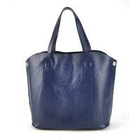 Women Genuine Leather Tote Shoulder Handbag Cross Body Bag Shopper Cabas Casual Daily Purse Fashion Stylish