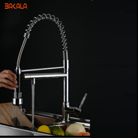 Free ShippingHigh Quality Fashion Latest New Style Brand Kitchen Faucet Pull Out Spray Tap Dual Flow
