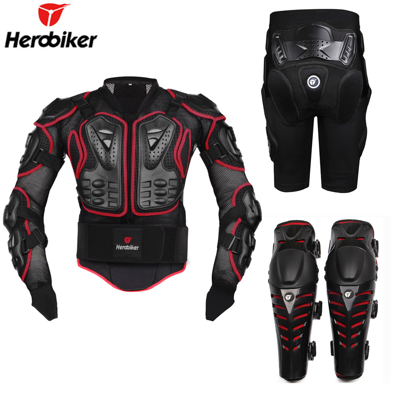 New Motorcycle Motocross Off Road Enduro Racing Full Body Protective Gear Protector Armor Jacket Hip Pads
