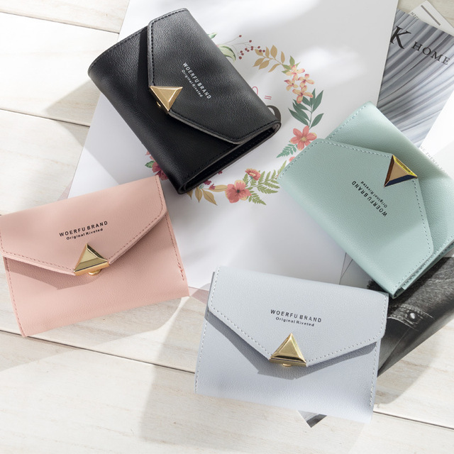 1e90dee65a81 Baellerry Ladies Purse Top Leather Mini Envelope Wallet Women Wallet Purse  Small Clutch Female Wallets Card Holder Carteira W076 free shipping  worldwide