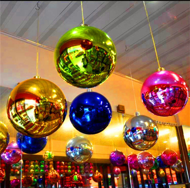 0.8m Fashion Christmas DecorationI Inflatable Mirror Ball For Stage Decoration