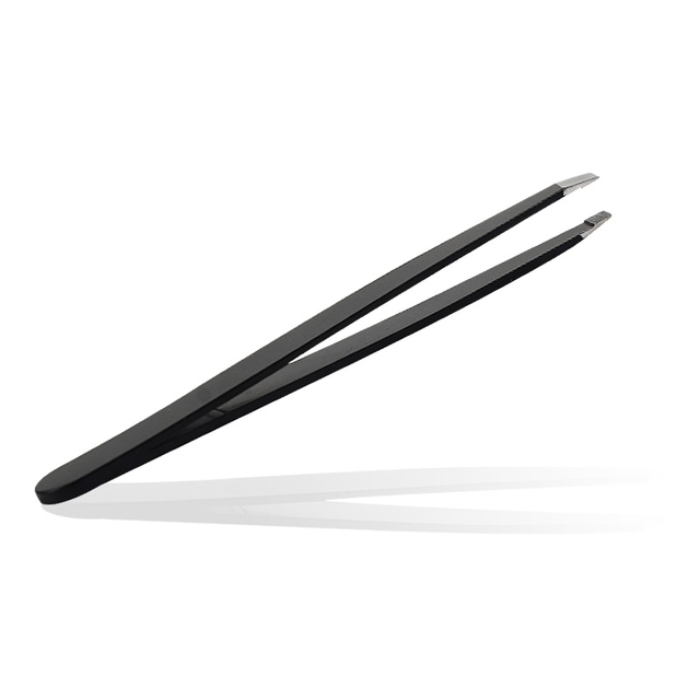 LNRRABC Sale Convenient Effective Eyebrow Tweezer Eyelash Extension Tweezers Eyebrow Removal Pink And Black Sanding 3
