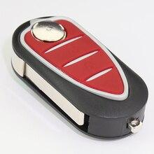 Replacement car key Case 3 Buttons Folding Flip Remote car Key Shell for Alfa Romeo Mito Giulietta159 GTA 147 156 166 GT