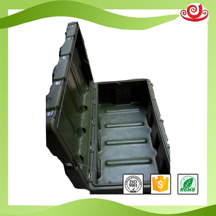 Tricases Factory Military Quality Shockproof Waterproof IP65 Military Equipment Box Roto-molded Industrial Case  RS870