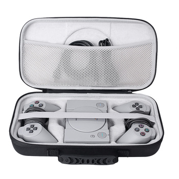2019 futerał do przenoszenia przechowywanie doskonała ochrona dla Sony Playstation Classic Mini Console 2 kontrolery i inne akcesoria tanie i dobre opinie Crust Pro Portable Boxes Bundle1 7 5 x 3 5 x 3 5 inches 0 7kg S0098