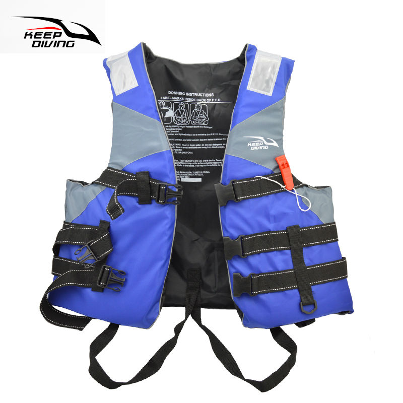 Professional Safety Life Jacket PFD Foam Float Vest For ...
