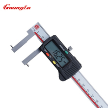 Best price GUANGLU Digital Caliper With Round Measuring Points For Inside Grooves 24-150mm 0.01mm/inch Stainless Steel Measure Tools