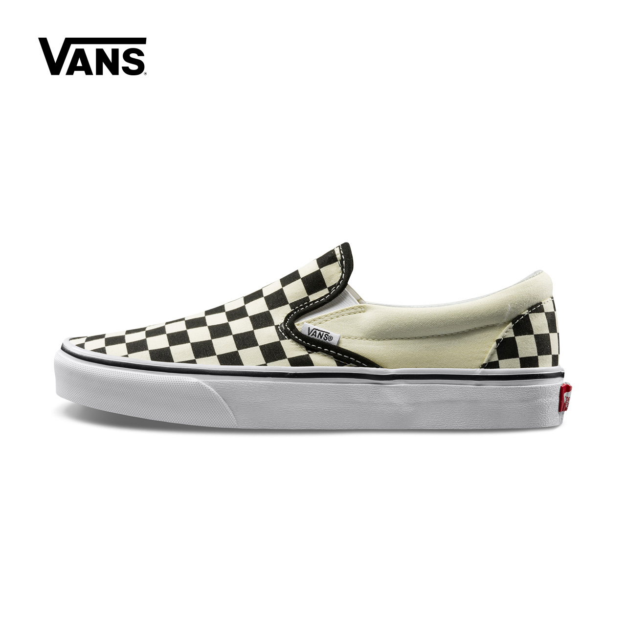 Original New Arrival Vans Men's & Women's Classic Slip-On Low-top Skateboarding Shoes Sneakers Canvas Comfortable VN-0EYEBWW