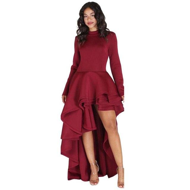Spring Summer Bodycon Party Dress Plus Size 2xl3xl High Low Peplum