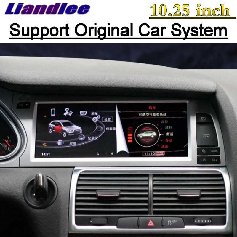 For Audi Q7 4L V12 TDI 2005~2015 Liandlee Car Multimedia Player NAVI Original Car System inch Radio Stereo GPS Screen Navigation 3