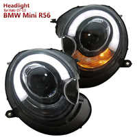 Für BMW MINI Cooper Clubman R55 R56 R57 FÜHRTE Projektor Scheinwerfer Montage fit 2007-2013 jahre auto Halo modelle