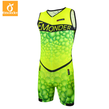 EMONDER Triathlon Cycling Jersey 2019 Pro Team Skinsuit Sleeveless For Swimming Running Bike Clothes ropa ciclismo