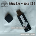 The latest version Sigma key Dongle with pack1 + Pack2 + Pack3 activation for alcatel huawei flash repair unlock ++Free shipping