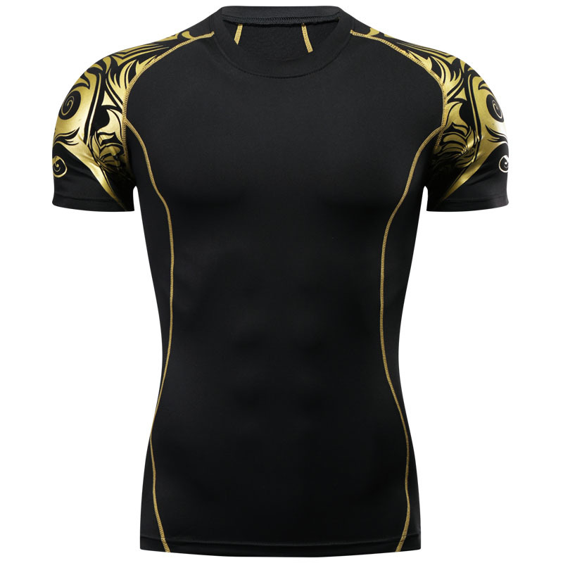 3D MMA Rashguard Gym T Shirt Clothing Compression Shirt Quick Dry Muay Thai Breathable Boxing Jerseys Fight MMA Jersey