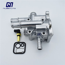 NIUBEAUTO алюминиевый термостат охлаждения двигателя Корпус Крышка датчика для Cruze Opel Astra 96984103 96817255 55563530