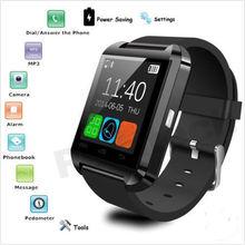 Armbanduhr U8 Bluetooth SmartWatch Sport Smart Uhr Tragbare Geräte für Samsung Sony HTC LG Android Smartphones