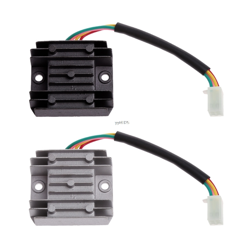 4 Wires Voltage Regulator Rectifier Motorcycle Boat Motor Mercury ATV GY6 50 150cc Scooter Moped JCL NST TAOTAO цена