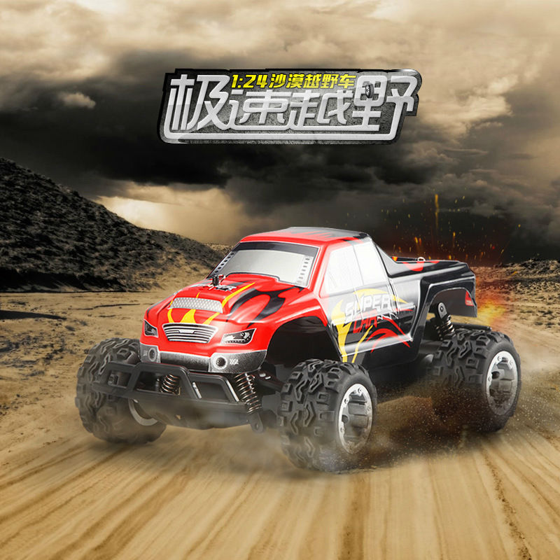 Original L343 2.4G 1/24th <font><b>Scale</b></font> <font><b>RC</b></font> 2WD Electric Powered Mini Indoor or outdoor Climber Off-road <font><b>RC</b></font> <font><b>Car</b></font> Toys with Transmitter image