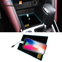 car styling Special on board QI wireless phone charging Pad Panel Car Accessories For Mazda CX 3 CX3 2017 2018