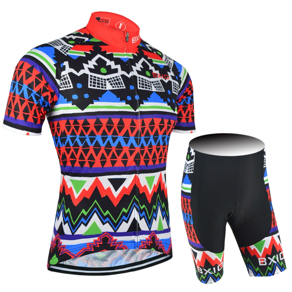 ФОТО 2017 BXIO Pro Team Cycling Sets DIY Design Bike Wear Custom Brand Cycle Clothing Ropa Ciclismo MTB Bicycle Clothes BX-0209F027