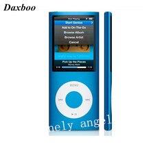 Daxboo Haute Qualité LCD 1.8 pouce 8 GB 16 GB 32 GB Sport Lecteur MP3 Jouer de la musique 4ème gen avec FM Radio E-book HD Vidéo MP4 Lecteur