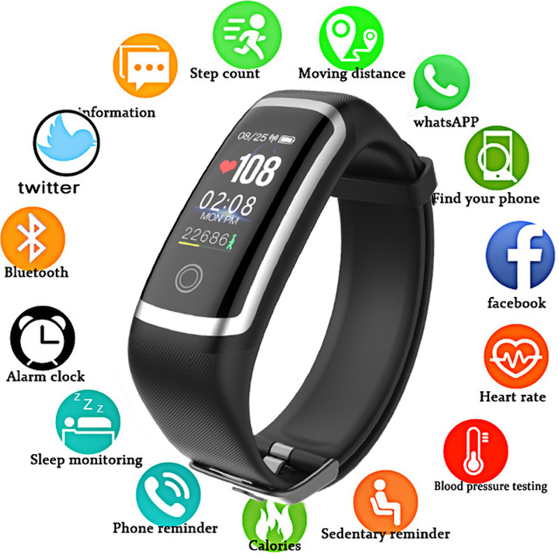 SANDA Bluetooth Smart Watch for iPhone Samsung HUAWEI Sport Fitness Watches Continuous Heart Rate Blood Pressure Bracelet RelojSANDA Bluetooth Smart Watch for iPhone Samsung HUAWEI Sport Fitness Watches Continuous Heart Rate Blood Pressure Bracelet Reloj