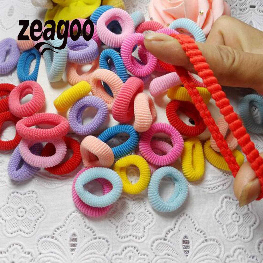 Accessories Women Ponytail-Holder Hair-Ropes Rubber Bands Elastic Girls Cute Multicolor