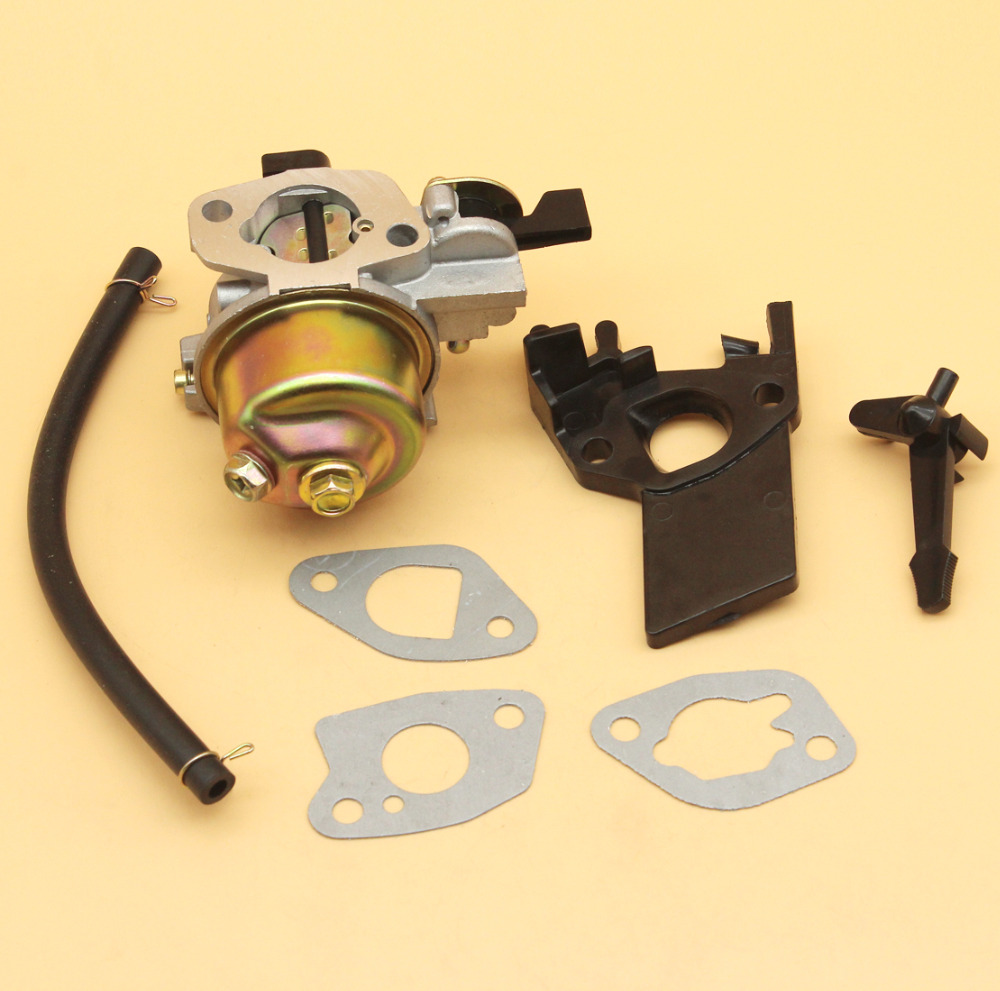 Carburetor Gasket Choke Rod Insulator Spacer Oil Hose Kit Fit Honda GX160 GX200 168F 5 5 6 5HP 2KW 196cc 163cc Engine Generator in Lawn Mower from Tools