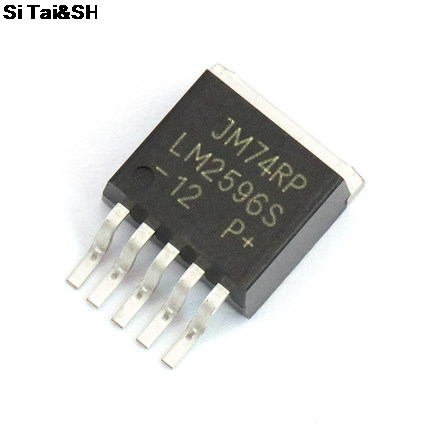 10pcs/lot LM2596S-5.0 LM2596S LM2596 2596 TO-263
