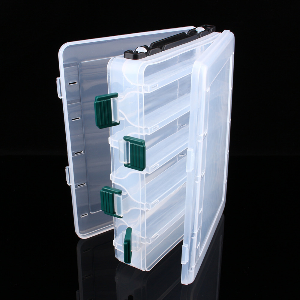 Fishing Storage Case 12 Compartments Hooks Fishing Lure Tackle Tackle Storage Transparent Clear Plastic Storage Box Accessory-in Fishing Tackle Boxes from ... & Fishing Storage Case 12 Compartments Hooks Fishing Lure Tackle ...