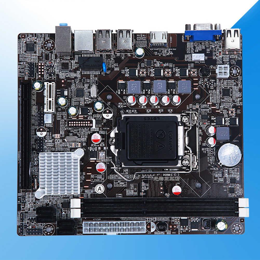 LGA 1155 האם יציב עבור אינטל H61 שקע DDR3 זיכרון LGA1155 החלפת מחשב אביזרי לוח ראשי