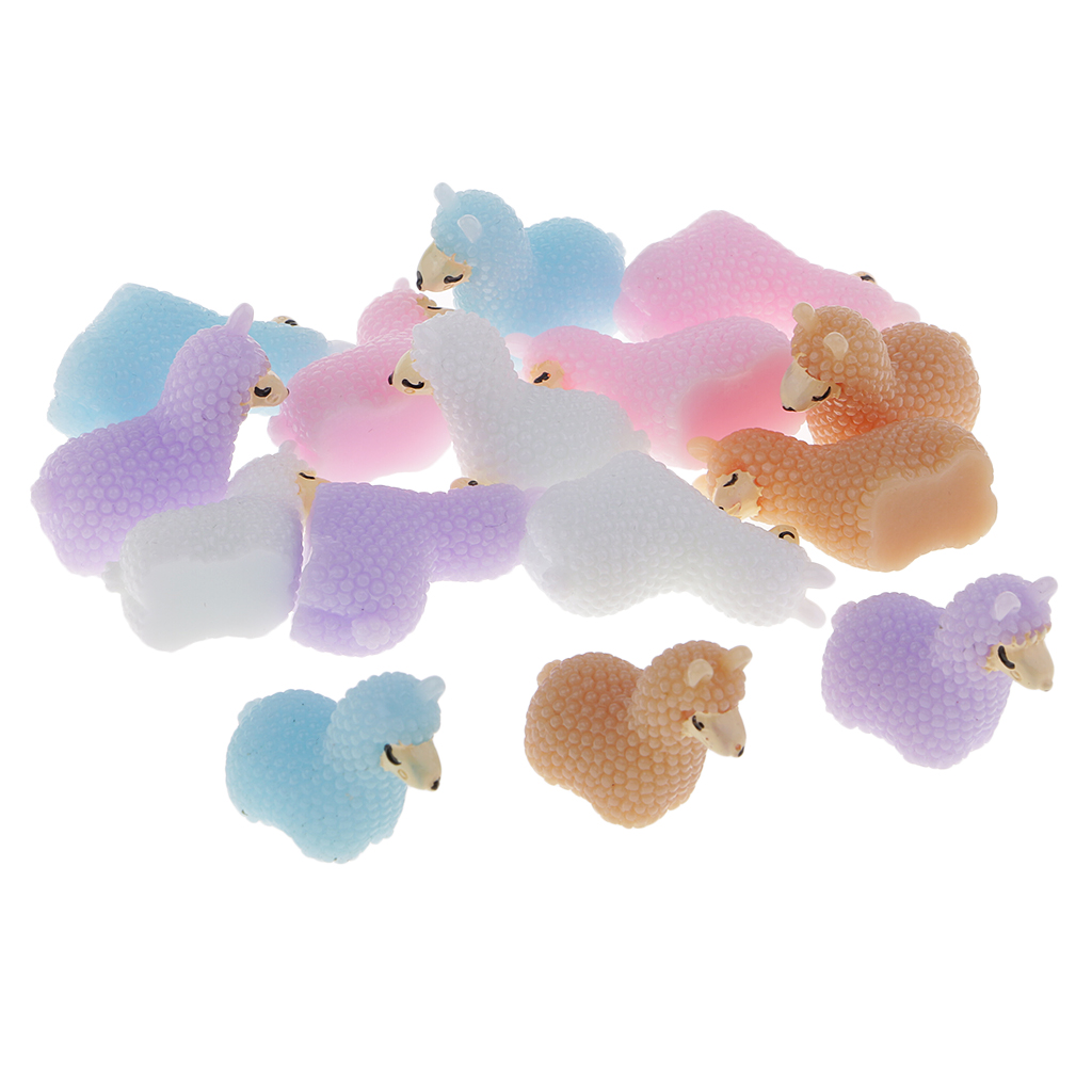 Cheap Sale Fityle Resin Alpaca Flat Back Embellishments For Crafts Scrapbook Slime Charms 15pcs/pack Cleaning The Oral Cavity. Home & Garden