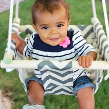 Canvas and Wood Baby Toddler Safety hanging chair swing seat indoor and outdoor toy swing hammock free shipping