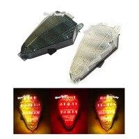 waase For Yamaha YZF R6 RJ15 2008 2009 2010 2011 2012 2013 2014 2015 2016 Tail Light Brake Turn Signals Integrated LED Light