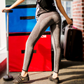 S-XL 4 Colors Women's Leggings Fashion Gray Breathble High Waist Workout Leggings Black Sportswear Advanture Time Leggings Women