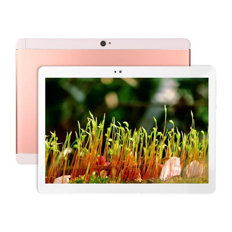Original nueva tableta Android PC 10 pulgadas Octa Core con Google Plya WiFi llamada de teléfono 3G añadir teclado de cuero caso de tabletas de oficina - 2