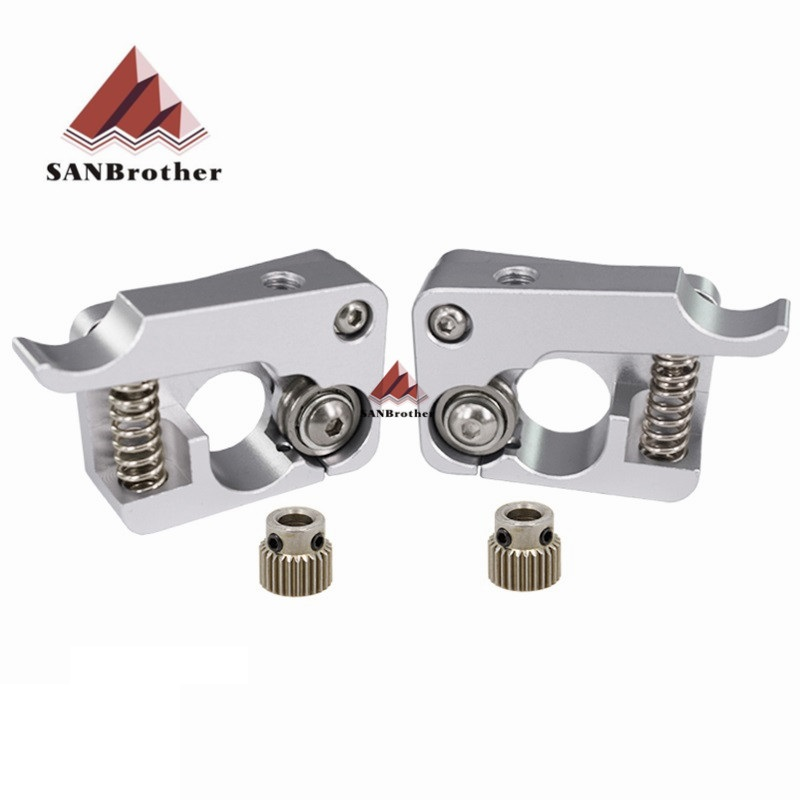 MK10 Remote Direct Extruder Aluminum Part Extrusion 1.75mm Right Left Hand Arm Full Metal Bowden 3D Printers Parts AluminiumMK10 Remote Direct Extruder Aluminum Part Extrusion 1.75mm Right Left Hand Arm Full Metal Bowden 3D Printers Parts Aluminium