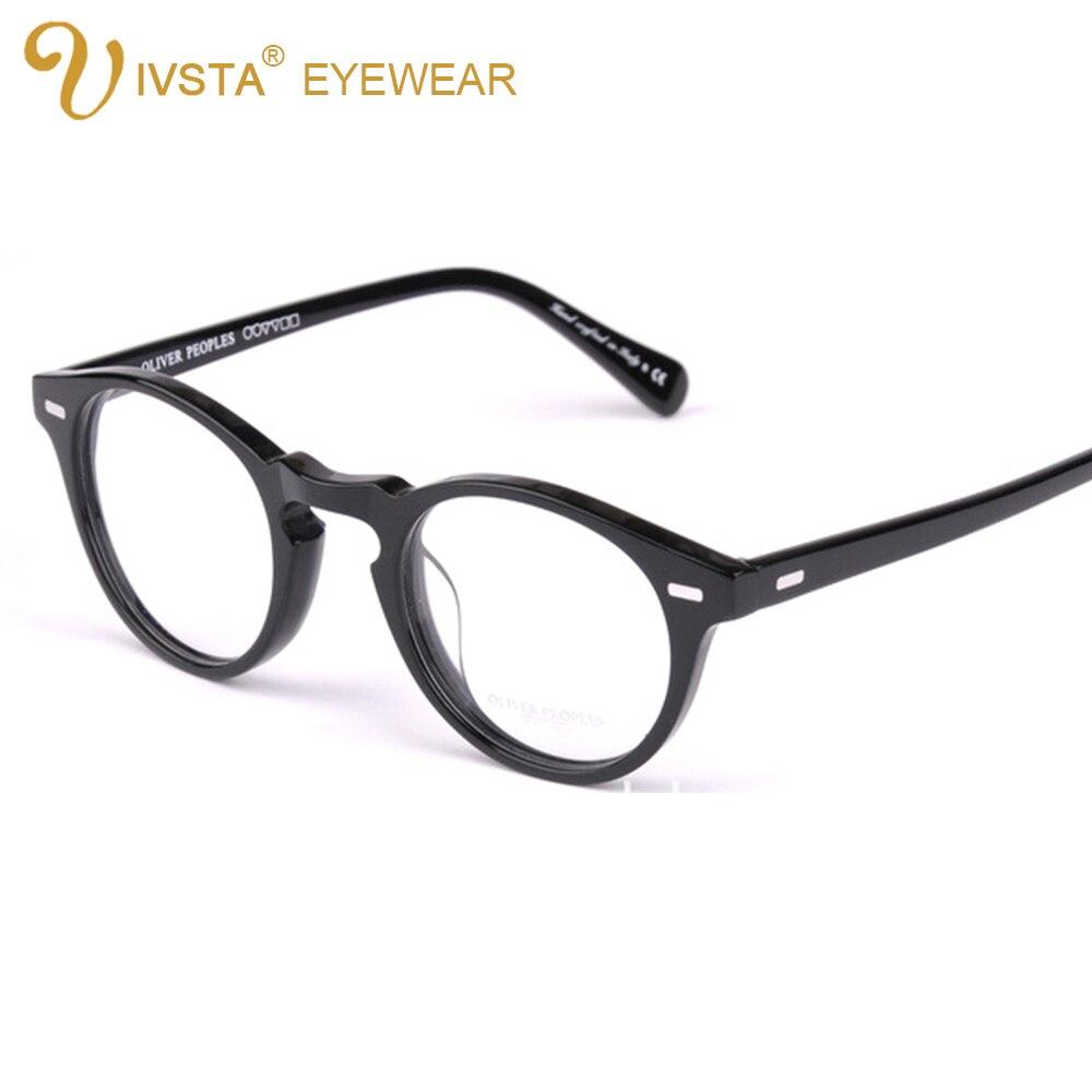 0540b3b0b2 Ov5186 handmade real acetate frames cat eye glasses gregory peck oliver  peoples women optical demi prescription tortoise 5031