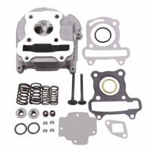 GOOFIT Cylinder Head Assy for GY6 50cc 139qmb Moped K074-027 goofit motorcycles big bore 50mm cylinder rebuild kit gy6 50cc 139qmb racing scooter parts 64mm valve group 11