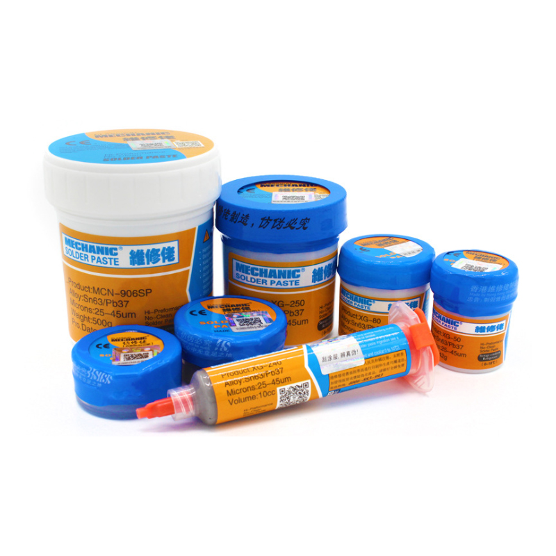 Mechanic Solder Tin Paste Solder Paste Flux Sn63/pb37 25-45um Syringe To Mobile Phone Repair Computer Services Indust
