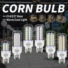 Bombillas LED para lámpara led E27 para candelabros, 3w, 5w, 7w, 12w, 15w, 18w, 20w, E14, CA de 220V, ahorro de energía, SMD 5730