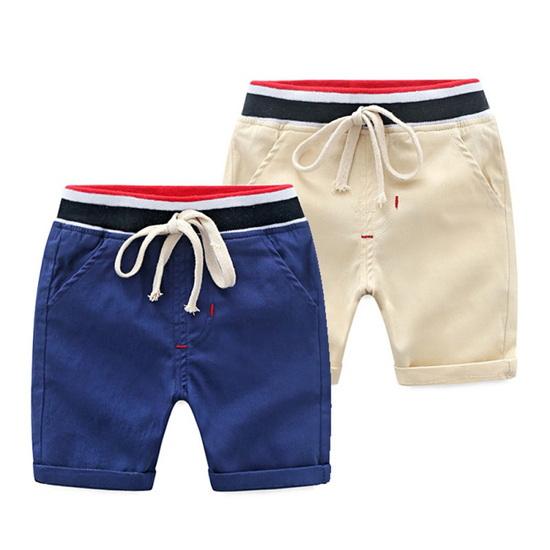 Summer Boy   Shorts   Toddler Casual Cotton   Short   Pants Trousers Outfits with Waist Belt