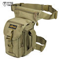 Military Leg Drop Bag Multifunctional Tactics Army Leg Bag Airsoft Paintball Leg Tool Bag Available Colors Black CP Coyote Brown