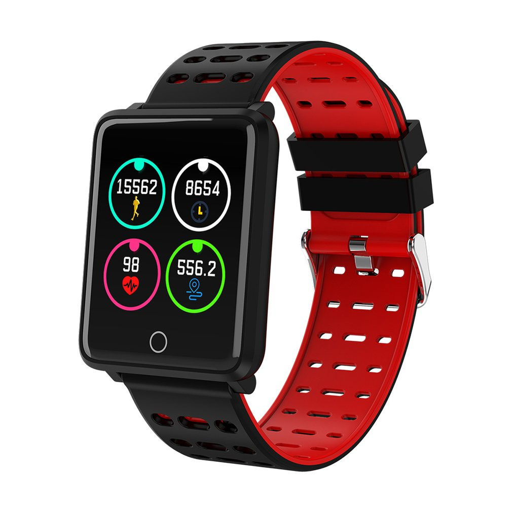 F3 Color Screen Smart Bracelet Bluetooth Call Information Heart Rate Step Counter Waterproof Sports Watches For Men Women Clock