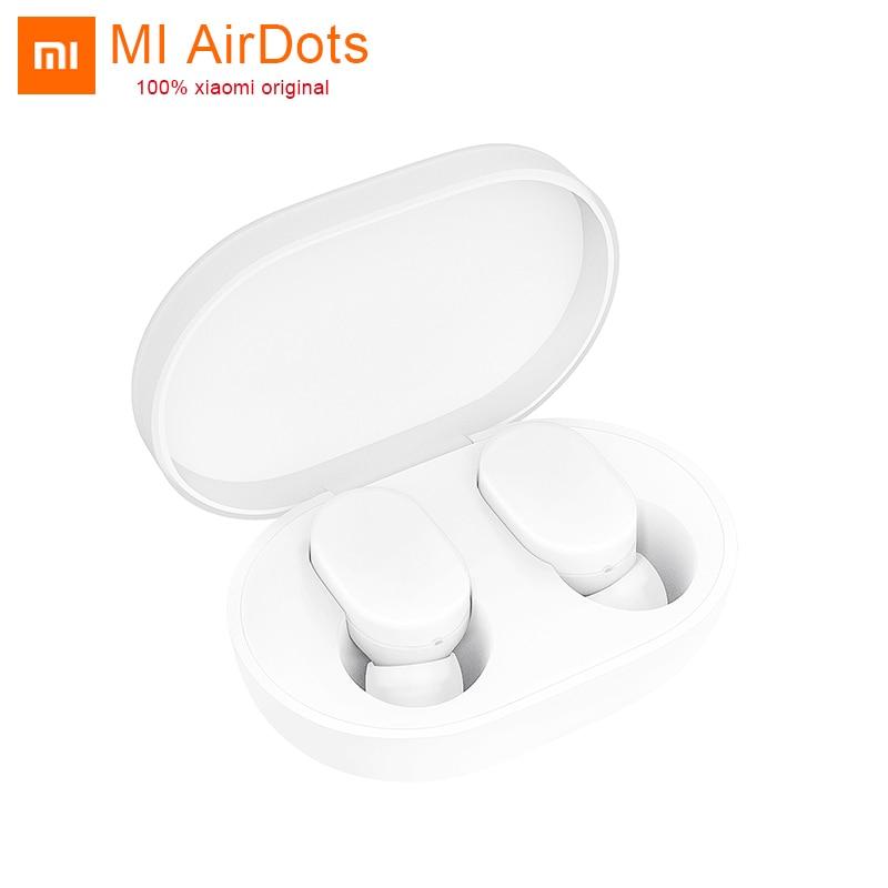 Neue Xiao mi AirDots Bluetooth Kopfhörer Jugend Version stereo bass BT 5,0 mi mi ni Kopfhörer Wireless Headset Ohrhörer AI control