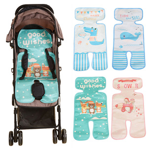 Baby Kid Summer Portable Baby Chair Sleeping Mat Cool Liner Cushion Safe Toddler Booster Seat Child Car Seats Random Delivery