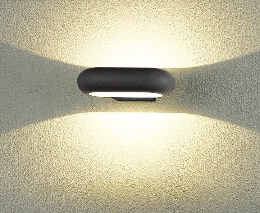 Us 64 06 12 Di Sconto Europeo Moderno E Minimalista Creativo Impermeabile Esterno Ha Condotto L Illuminazione Della Parete Applique Da Parete Per