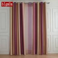 Europäischen Stil Regenbogen Farbe Vorhänge für Wohnzimmer Esszimmer Schlafzimmer Tüll Vorhänge und Hohe Shading Vorhänge Fenster Behandlungen-in Vorhänge aus Heim und Garten bei